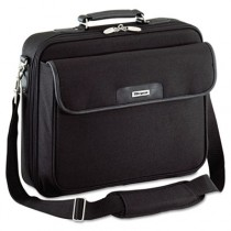 Notepac Laptop Case, Ballistic Nylon, 15-3/4 x 5 x 14-1/2, Black