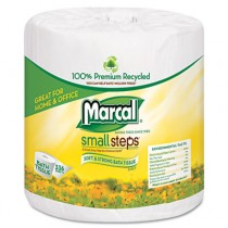 Small Steps 100% Premium Recycled 2-Ply Embossed Toilet Tissue