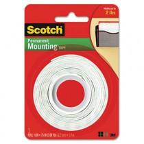 Foam Mounting Double-Sided Tape, 1/2 Wide x 75 Long