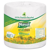 Small Steps 100% Premium Recycled 1-Ply Bath Tissue