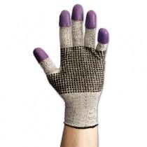 JACKSON SAFETY G60 Purple Nitrile Gloves, Large/Size 9, Black/White