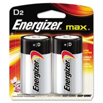 MAX Alkaline Batteries, D