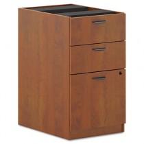 BL Laminate 3-Drawer Pedestal File, 15-5/8w x 21-3/4d x 27-3/4h, Medium Cherry