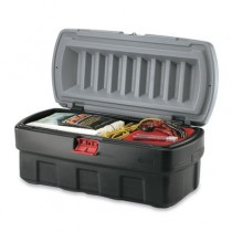ActionPacker Cargo Box, 48gal, Black/Gray