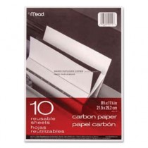 Black Carbon Mill Finish Paper, 8-1/2 x 11, 10 Sheets