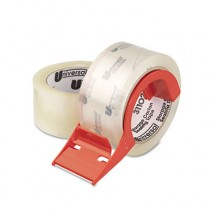 """Mailing & Storage Tape, 2"""" x 55 yards, 3"""" Core, Clear, 2/Box"""