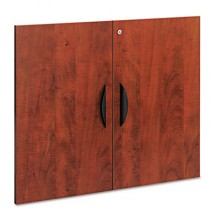 "Valencia Series Cabinet Door Kit For All Bookcases, 31-1/4"" Wide, Medium Cherry"