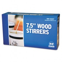 """Wood Coffee Stirs, 7 1/2"""", Natural"""