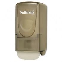 Plastic Liquid Soap Dispenser, 800ml, 5-1/4w x 3-7/8d x 10h, Smoke