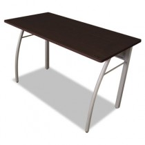 Trento Line Rectangular Desk, 47-1/4w x 23-5/8d x 29-1/2h, Mocha