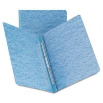 Side Opening Pressboard Report Cover, Prong Fastener, Letter, Blue