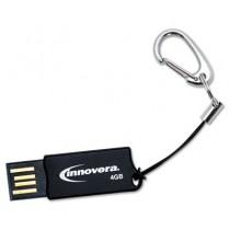 COB Flash Drive, 4 GB, USB 2.0, Black