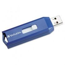 Classic USB 2.0 Flash Drive, 4GB, Blue
