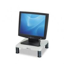 Height-Adjust Standard Monitor Riser, 13 1/8 x 13 1/2d x2-4, Platinum