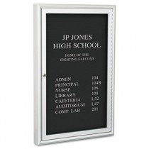 "Enclosed Directory Board, 24""w x 36""h, Aluminum Frame"