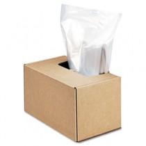 Powershred Shredder Waste Bags, 50 gal Capacity