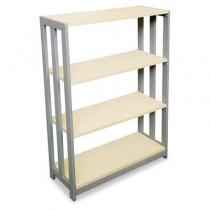 Trento Line Bookcase, 31-1/2w x 11-5/8d x 43-1/4h, Oatmeal