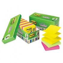 Ultra Pop-Up Note Refills, 3 x 3, Assorted, 18 100-Sheet Pads/Pack