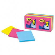 Pop-Up Refills, 3 x 3, Neon, 12 100-Sheets, Pads/Pack