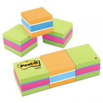 Mini Cubes, 2 x 2, Assorted Ultra Colors, 3 400-Sheet Pads/Pack