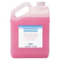 Mild Cleansing Pink Lotion Soap, Lt Floral Scent, Liquid, 1 gal Bottle