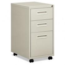 "Embark Series Mobile Box/box/File Pedestal File w/""M"" Pull Drwr, 20d, Light Gray"