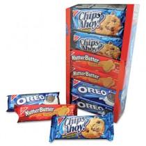 Variety Pack Cookies, Assorted, 1.75 oz Packs, 12 Packs/Box