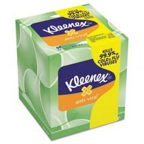 KLEENEX Anti-Viral Facial Tissue, 3-Ply, 68 Sheets/Box