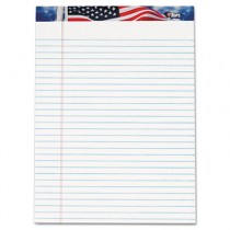 American Pride Writing Pad, Jr. Legal Rule, 8-1/2 x 11-3/4, White, 50 Sheets