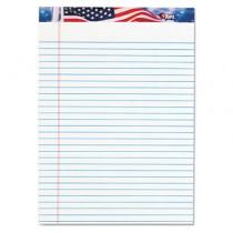 American Pride Writing Pad, Lgl Rule, 8-1/2 x 11-3/4, White, 50 Sheets