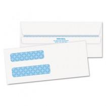Double Window Tinted Redi-Seal Invoice & Check Envelope, #8, White, 500/Box