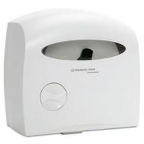Electronic Touchless Coreless JRT Dispenser, 12 2/3w x 6 7/8d x 13h, White