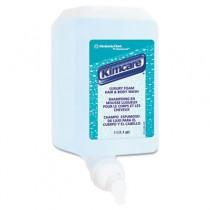 KLEENEX Luxury Foam Hair & Body Wash, 1000 mL, Refill