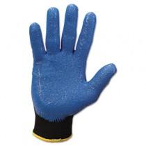 KLEENGUARD G40 Foam Coated Nitrile/Nylon Gloves, Medium/#8, Blue, Pair