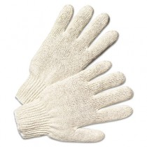 String Knit Gloves, Natural White