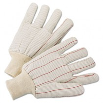 1000 Series Canvas Gloves, Green, Large