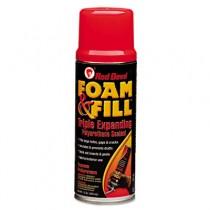 Foam & Fill Expanding Polyurethane Sealant, 12oz, Champagne