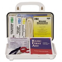 ANSI Plus #10 Weatherproof First Aid Kit, 76 Pieces, Plastic Case