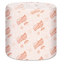 Snow Lily 100% Recycled Bath Tissue, 2-Ply, White, 4.3 x 3.66, 336/Roll