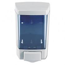 ClearVu Bulk Foam Soap Dispenser, 5.5w x 4.5d x 8.5h 46-oz, Gray/Clear