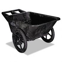 Big Wheel Agriculture Cart, 300 lb Cap., 32 3/4 x 58 x 28 1/4, Black