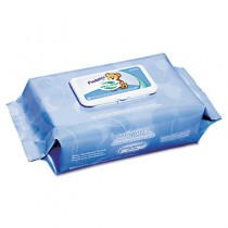 Unscented Pudgies Baby Wipes, 6 1/2 x 9, White