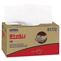 WYPALL L10 SANI-PREP Dairy Towels, 10 1/2 x 10 1/4, White