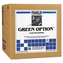 Green Option Floor Sealer/Finish, Liquid, 5 gal. Box