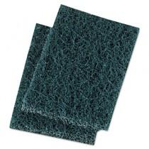 Extra Heavy-Duty Scour Pad, 3 1/2 x 5, Blue/Gray