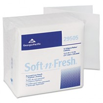 Soft-n-Fresh Airlaid Wipers, 12 1/2 x 13
