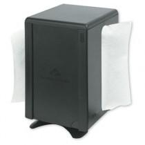 Tabletop Napkin Dispenser, M-Window, 5 3/4x4 3/4x7 7/10, Black