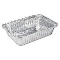 Aluminum Oblong Pan, 36 oz, 8-1/2 x 5-15/16 x 1-13/16