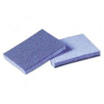 Soft Scour Scrub Sponge, 3 1/2 x 5 in, Blue