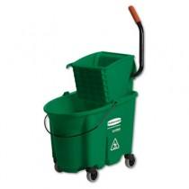 WaveBrake Side-Press Wringer/Bucket Combo, 8.75 gal, Green